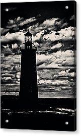 Ram Island Ledge Light Acrylic Print by Karol Livote