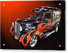 Ram Rod Express Acrylic Print by Bill Dutting