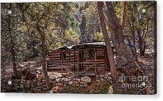 Ramsey Canyon Log Cabin 2 Acrylic Print