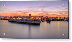 Ramsgate Harbour Summer Sunset  Acrylic Print