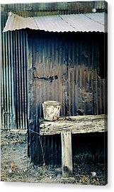 Ranch Out Building Acrylic Print