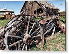 Ranch Wagon Acrylic Print