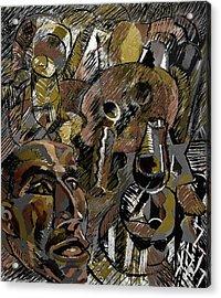Acrylic Print featuring the digital art Ranchera by Clyde Semler