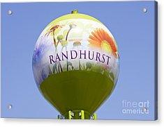 Randhurst Water Tower Acrylic Print