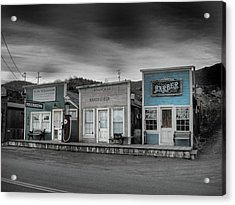 Randsburg Gas Station And Shops Acrylic Print