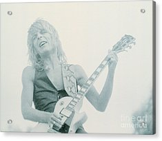 Randy Rhoads Day On The Green 7-4-81 Acrylic Print