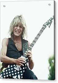 Randy Rhoads New Release At The Green In Oakland-july 4th 1981 Acrylic Print