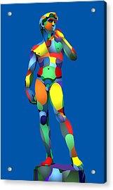 Randy's David Blue Acrylic Print