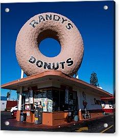 Randy's Donuts Acrylic Print by Stephen Stookey