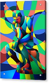 Randy's Rodin 2 Acrylic Print