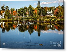 Rangley Lake Maine Acrylic Print