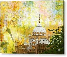 Ranjit Singh's Samadhi Acrylic Print