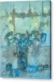 Ranunculaceous Acrylic Print by Valerie Lynch