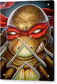 Raphael Unleashed  Acrylic Print by Al  Molina