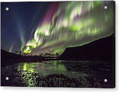 Rapid Auroras Acrylic Print