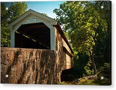 Rapps Covered Bridge Acrylic Print