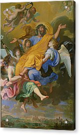 Rapture Of Saint Joseph Acrylic Print by French School