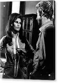 Raquel Welch Acrylic Print by Retro Images Archive