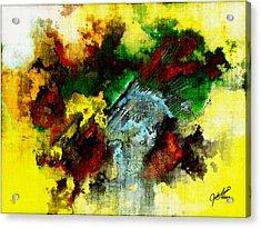 Rasta Rain Acrylic Print