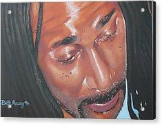 Rastaman Acrylic Print
