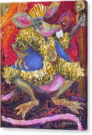 Rat King Acrylic Print by Paris Wyatt Llanso