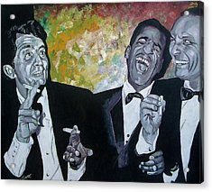 Rat Pack Acrylic Print by Jeremy Moore