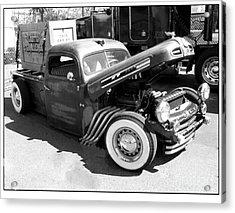 Rat Rod Hot Rod Acrylic Print by Kip Krause