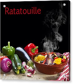 Ratatouille Concept Acrylic Print by Colin and Linda McKie