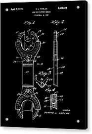 Ratchet Wrench Patent Acrylic Print