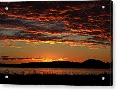 Rathtrevor Sunrise Acrylic Print
