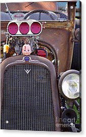 Ratrodded Out  Acrylic Print by Juls Adams