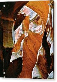 Rattlesnake Canyon Acrylic Print by Ed  Riche