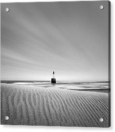 Rattray Head Lighthouse 1 Acrylic Print by Dave Bowman