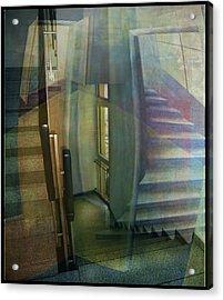 Raumirritation 35 Acrylic Print by Gertrude Scheffler