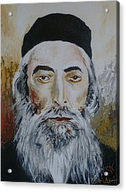 Rav Yaakov Yosef Herman Acrylic Print
