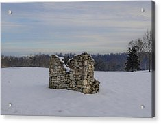 Ravages Of Winter Acrylic Print