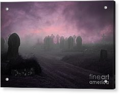 Rave In The Grave Acrylic Print