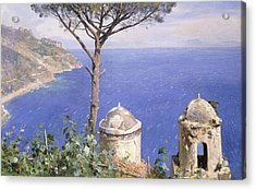 Ravello Acrylic Print by Peder Monsted