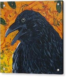Raven Festival Acrylic Print