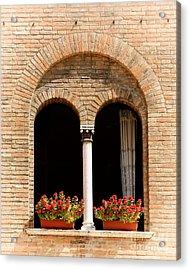 Ravenna Window Acrylic Print