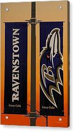 Ravenstown Acrylic Print by David Simons