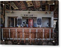 Raw Bar Acrylic Print