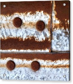 Raw Steel 2 Acrylic Print by Tom Druin