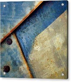 Raw Steel...blue Acrylic Print