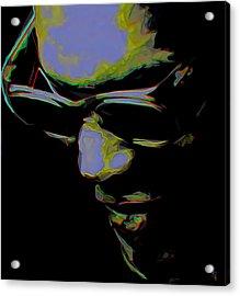 Ray Charles Acrylic Print by  Fli Art