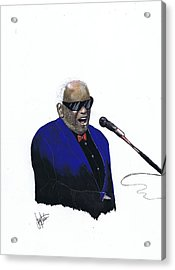 Ray Charles Acrylic Print