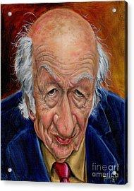 Ray Harryhausen Acrylic Print by Mark Tavares
