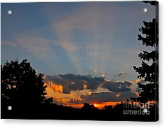 Rays And Shine Acrylic Print