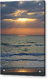 Rays From Above Acrylic Print by Bruce Bley
