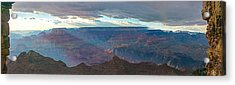 Rays Of Color Acrylic Print by Mike Groves